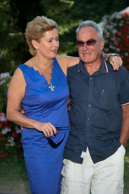 Ewa z mężem /- /East News
