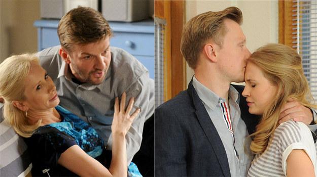 Ewa zamieszka ze swoim nowym kochankiem, a Igor wplącze się w romans z mężatką /Agencja W. Impact