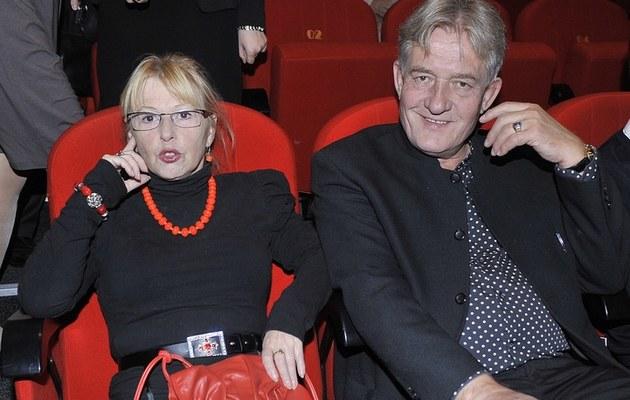 Ewa Złotowska i Marek Frąckowiak /- /AKPA