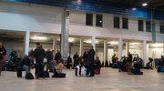 Ewakuacja lotniska w Modlinie