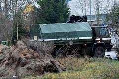 Ewakuacja ludności w Policach