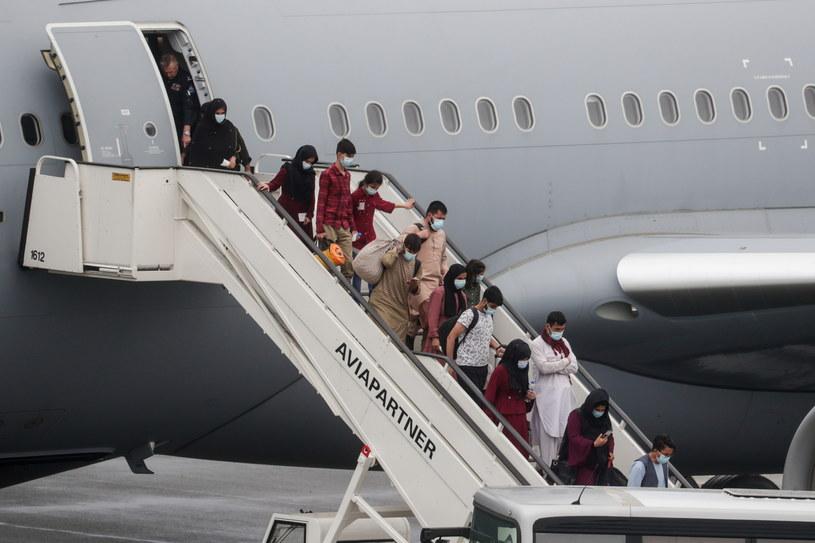Ewakuacja ludzi z Afganistanu /STEPHANIE LECOCQ  /PAP/EPA