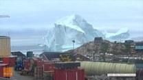 Ewakuacja na Grenlandii. Odpadł kawał góry lodowej