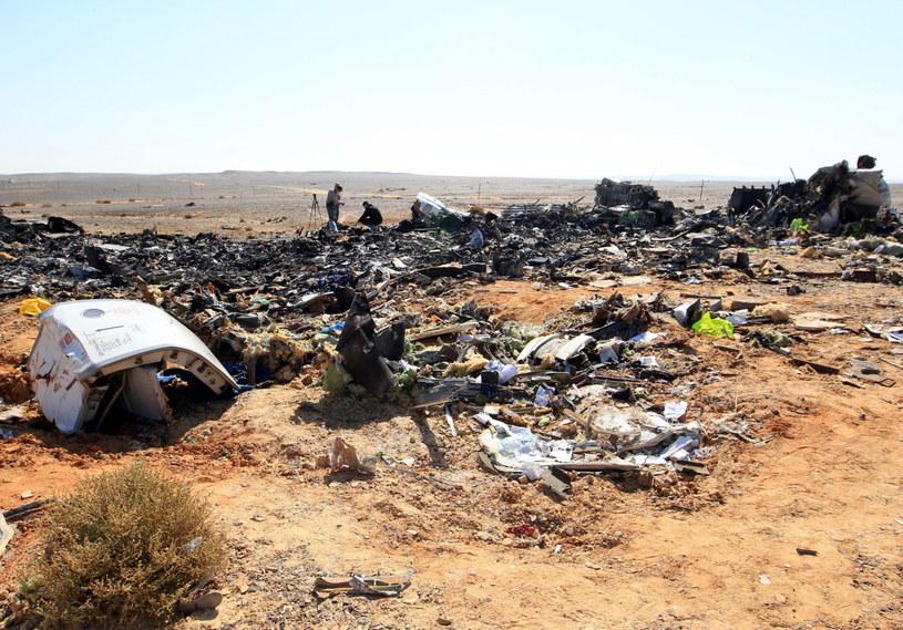 Ewakuacja turytów spowodowana jest katastrofą rosyjskiego samolotu na Synaju /KHALED ELFIQI   /PAP/EPA