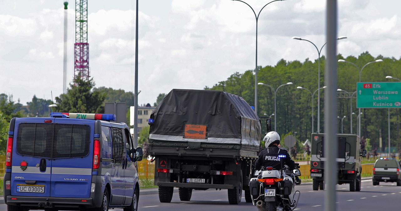 Ewakuacja w Białymstoku. Służby usuwały półtonową bombę