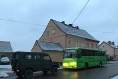 Ewakuacja w Morągu