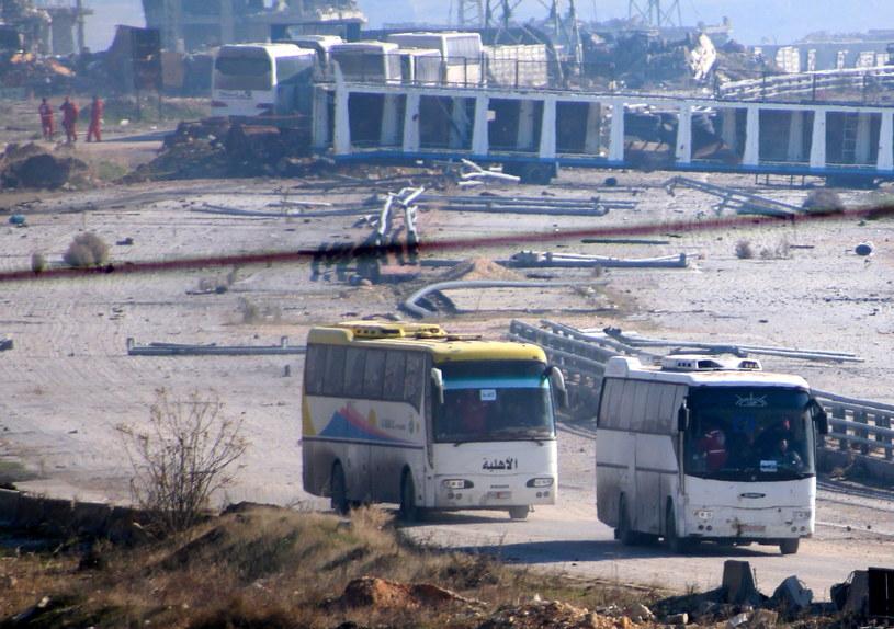 Ewakuacja z Aleppo /PAP/EPA