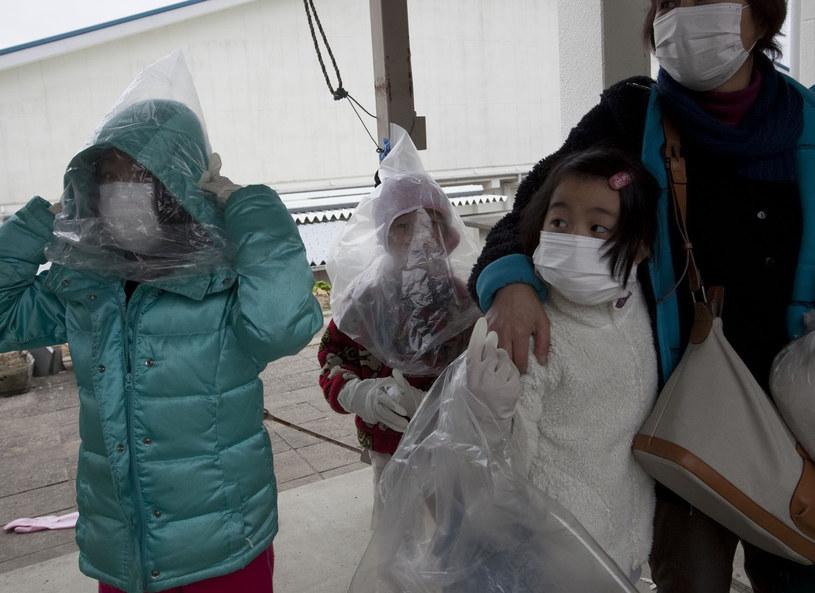 Ewakuacja z terenów dotknietych katastrofą elektrowni w Fukushimie /Polaris/East News /East News