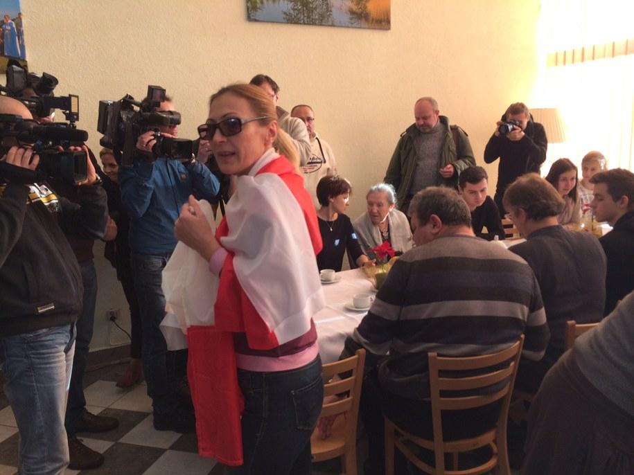 Ewakuowani z Donbasu znaleźli nowy dom na Warmii i Mazurach /Piotr Bułakowski /RMF FM