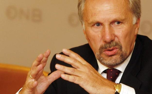 Ewald Nowotny z EBC /AFP