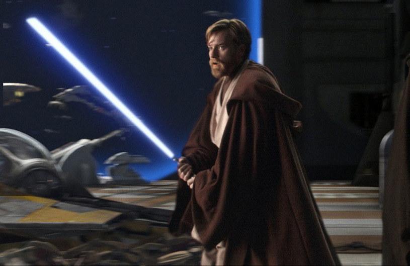 """Ewan McGregor jako Obi-Wan Kenobi w """"Zemście Sithów"""" /materiały prasowe"""