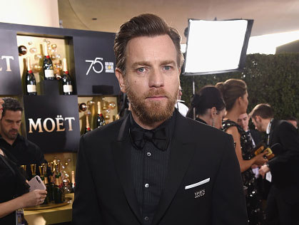 Ewan McGregor na planie filmu /Getty Images