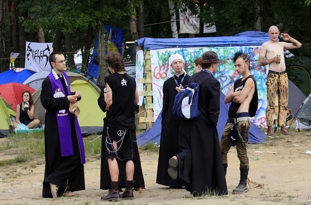 Ewangelizatorzy Przystanku Jezus, który towarzyszy XVII Przystankowi Woodstock / fot. L. Muszyński /RMF
