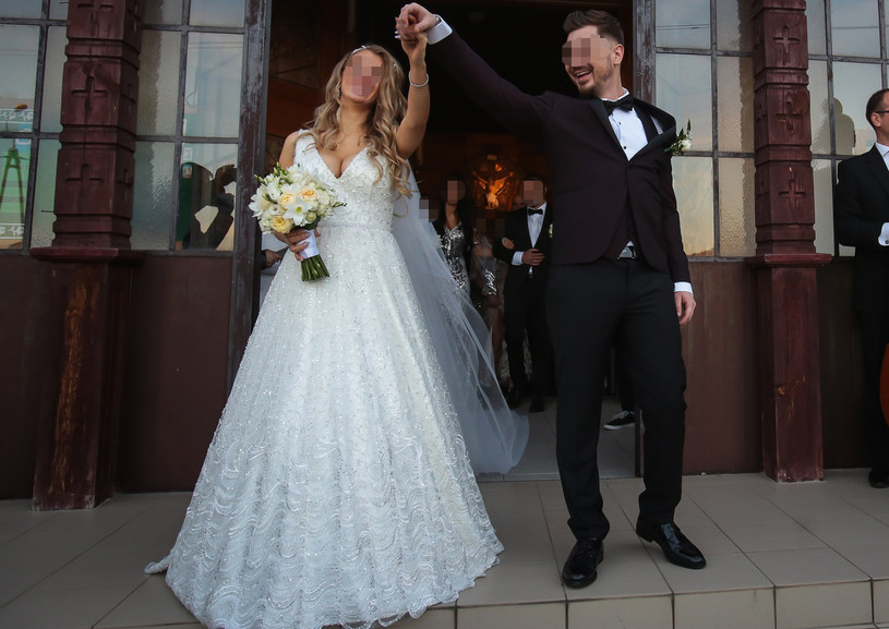 Ewelina i Daniel są młodym małżeństwem /Piotr Grzybowski /East News