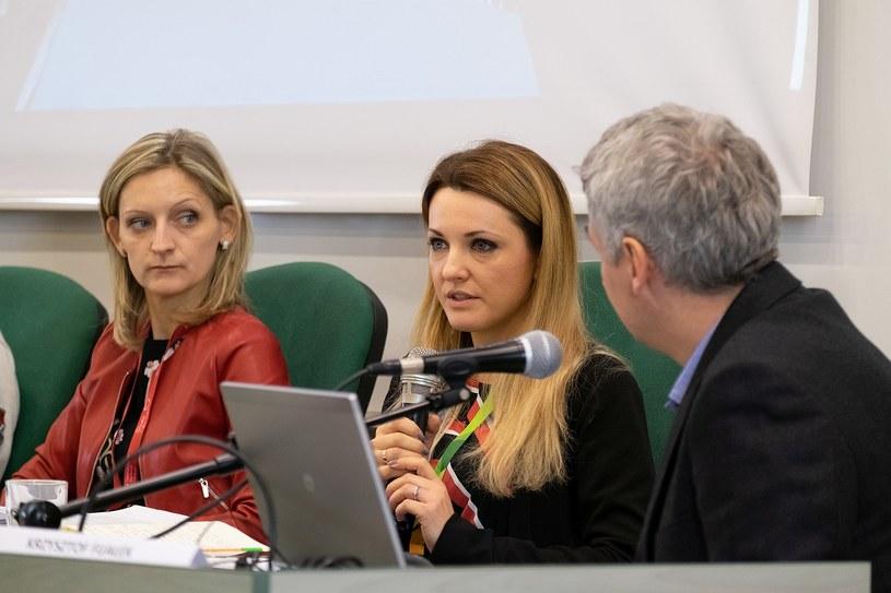 a43b42f9aac136 Ewelina Karpińska-Morek podczas wystąpienia zatytułowanego