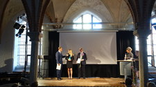 Ewelina Karpińska-Morek z Polsko-Niemiecką Nagrodą Dziennikarską