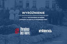 Ewelina Karpińska-Morek z wyróżnieniem w 27. edycji konkursu o doroczną Nagrodę SDP