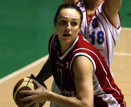 Ewelina Kobryn - pewny punkt kadry i Wisły Can-Pack Kraków /Agencja Przegląd Sportowy