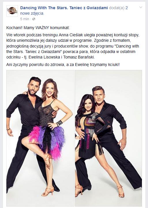 Ewelina Lisowska wraca do gry! /Facebook
