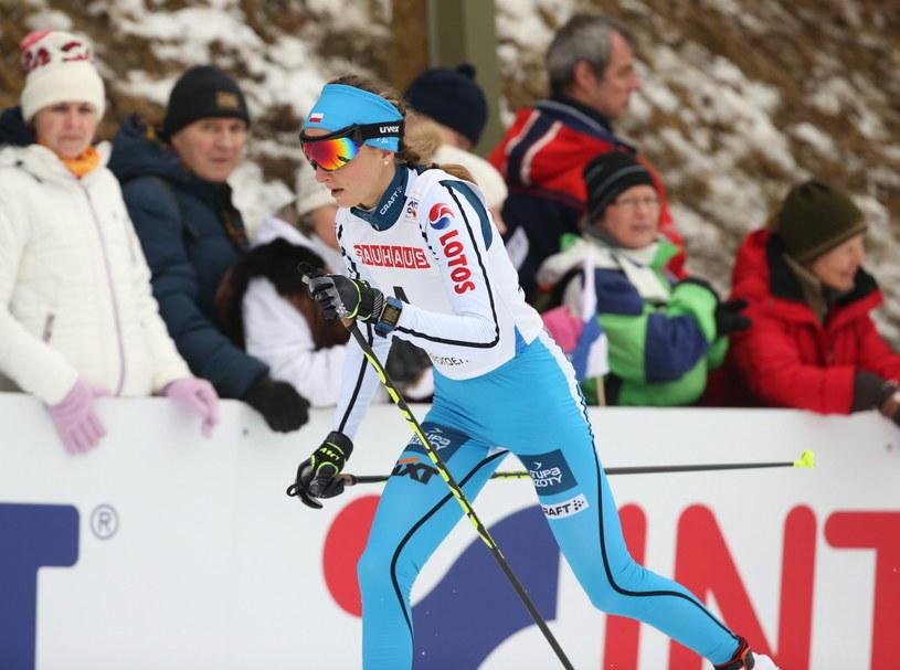 Ewelina Marcisz na trasie /Grzegorz Momot /PAP