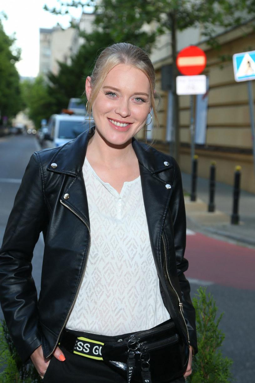 """Ewelina Ruckgaber jest znana z serialu """"Gliniarze"""" /Pawel Wodzynski/East News /East News/ Zeppelin"""