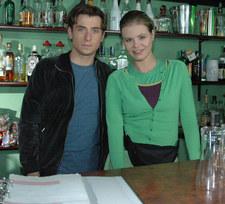 Ewelina Serafin grała dziewczynę Marka Mostowiaka w