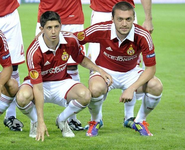 Ewentualna gra Maora Meliksona (z lewej) w reprezentacji Polski wywołuje w Izraelu duże kontrowersje /AFP