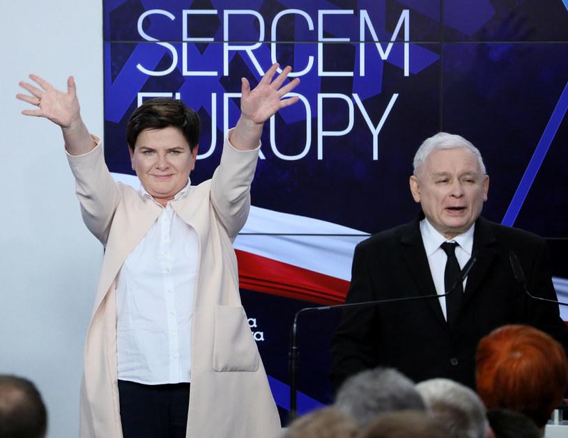 Exit poll: Beata Szydło zdobyła mandat europosła /Piotr Molecki /East News