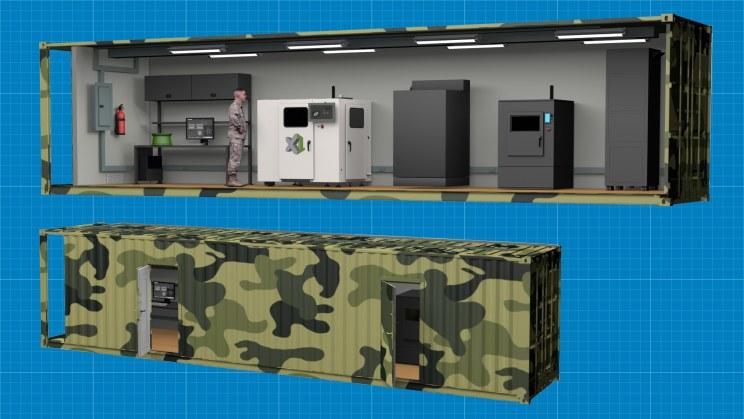 ExOne stworzy specjalne kontenery do druku 3D /materiały prasowe