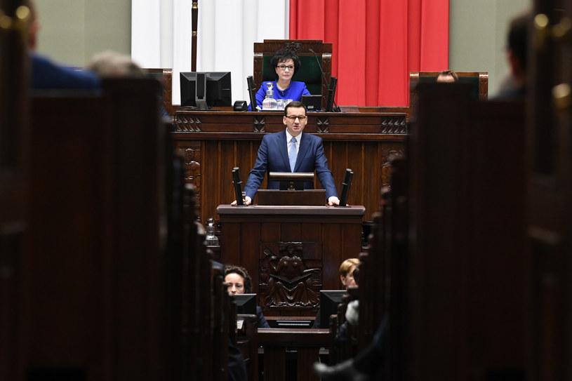 Expose premiera Morawieckiego / Jacek Domiński /Reporter