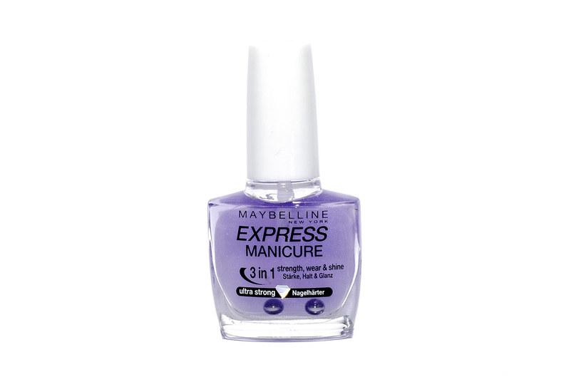 Express Manicure od Maybelline New York /materiały prasowe