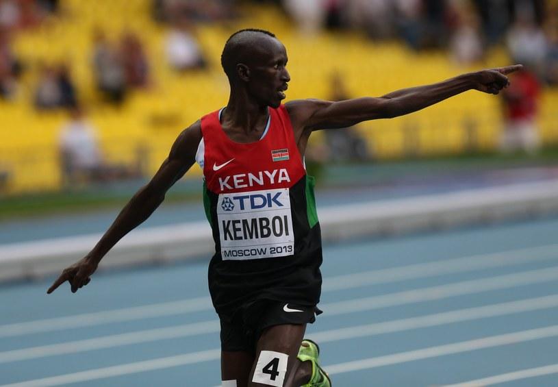 Ezekiel Kemboi /AFP