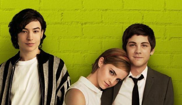 "Ezra Miller, Emma Watson i Logan Lerman - bohaterowie filmu ""The Perks of Being a Wallflower"" /materiały prasowe"