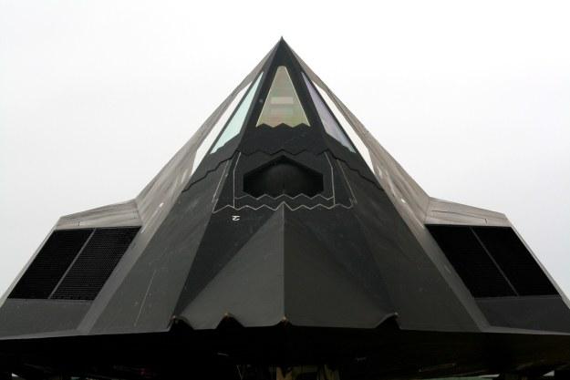 F-117 - pierwszy samolot wykonany w technologii stealth     Fot. Lockheed Martin /materiały prasowe