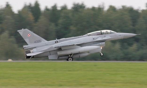 F-16.  Fot. Fot. A. Weber/DPI MON /materiały prasowe