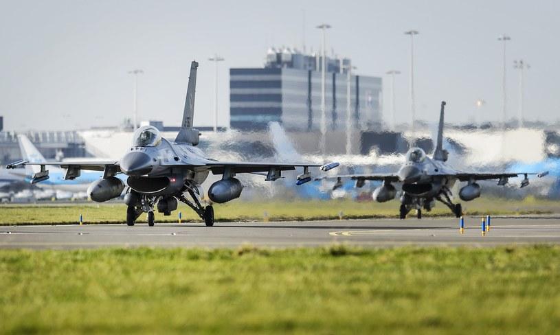 F-16 holenderskich sił powietrznych /AFP