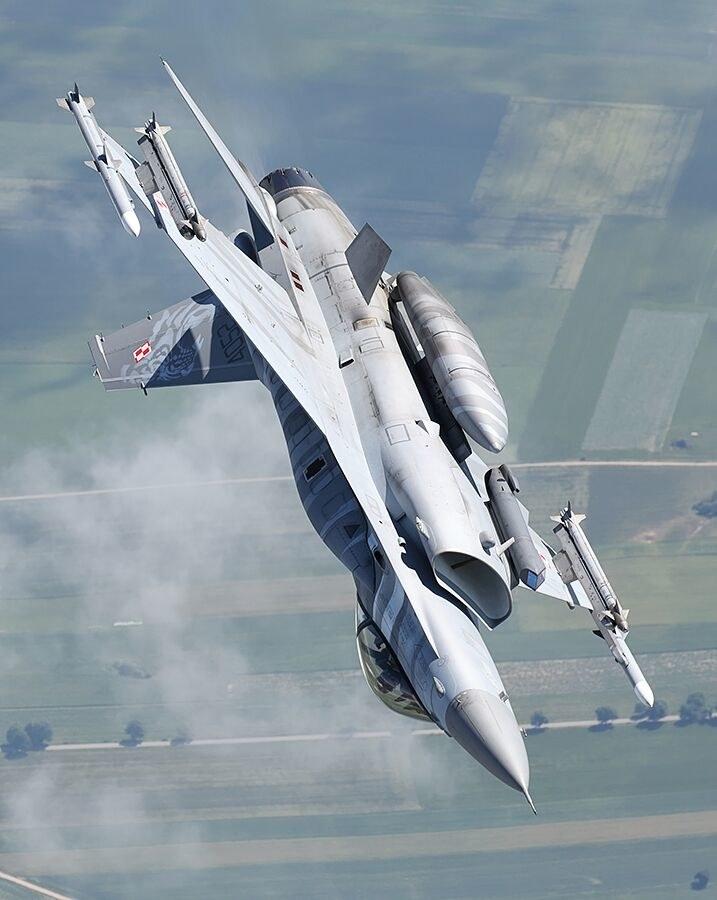 F-16 Polskich Sił Powietrznych/zdjęcie ilustracyjne /Bartek Bera /INTERIA.PL