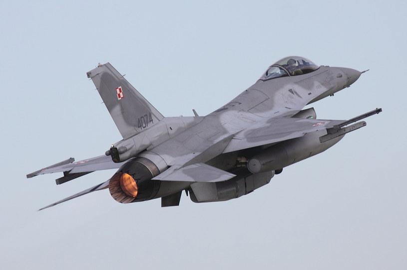 F-16 w Krzesinach /Bartek Bera /INTERIA.PL
