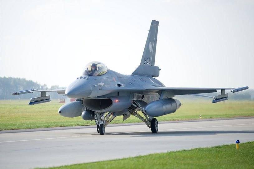 F-16 /Łukasz Szeląg /Reporter