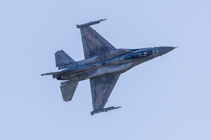 F-16 /Jakub Walasek /Reporter