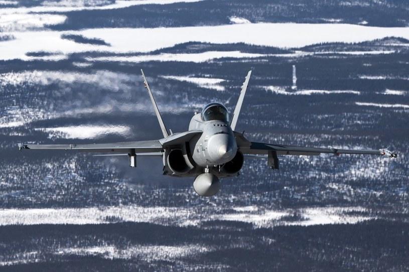 F-18 Hornet w służbie fińskiego lotnictwa /AFP