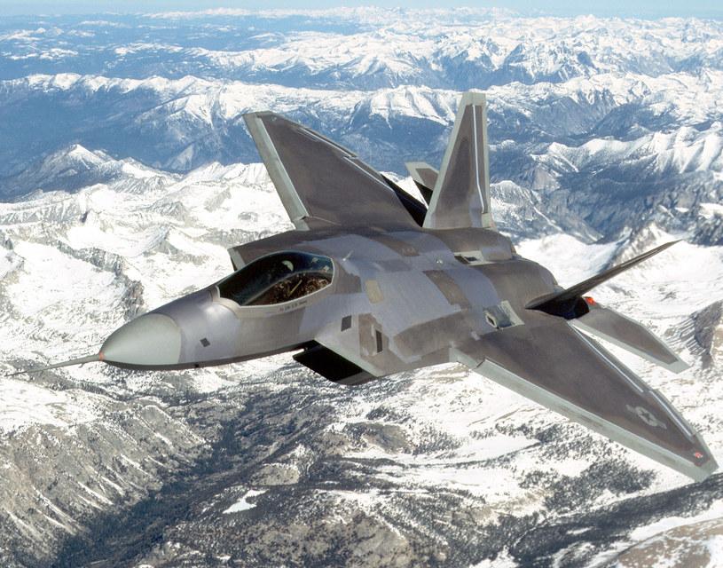 F-22 -  miał być najnowocześniejszym na świecie myśliwcem /AFP