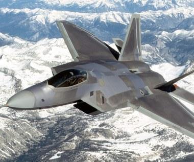 F-22 zaatakowały cele w Syrii?