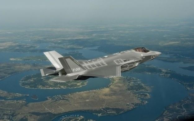 F-35.   Fot. Lockheed Martin /materiały prasowe