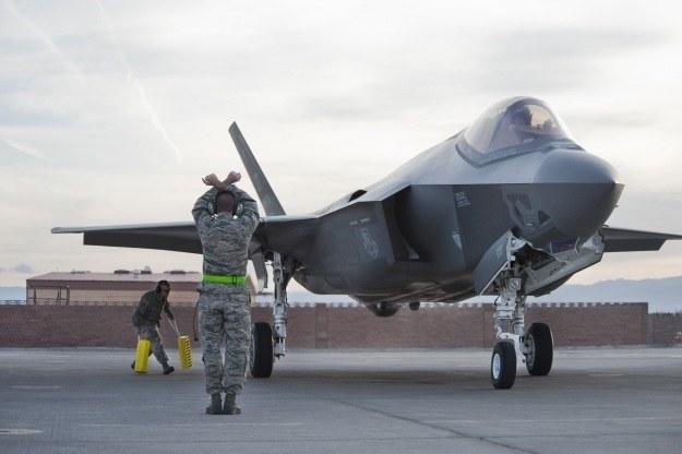 F-35. Fot. U.S. Air Force photo/Lawrence Cresp /materiały prasowe
