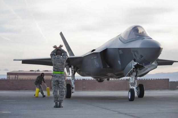 F-35.   Fot. U.S. Air Force photo/Lawrence Crespo /materiały prasowe