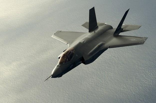 F-35.  Fot. U.S. Air Force photo /materiały prasowe