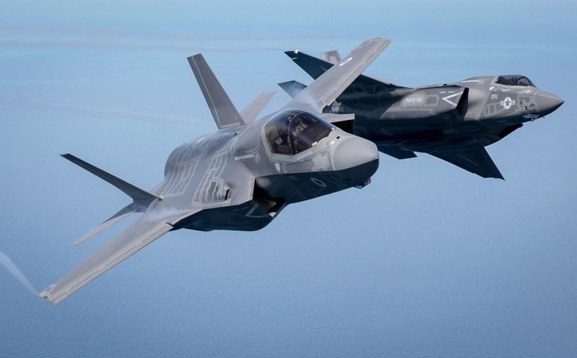 F-35 lotnictwa Wielkiej Brytanii i Stanów Zjednoczonych. Polacy zapłacą za nie więcej, niż pozostali klienci /Getty Images