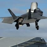F-35 sam się zestrzelił? Straty warte miliony dolarów