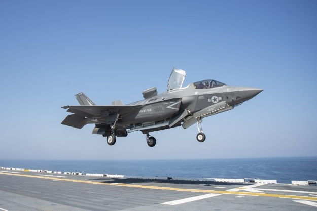 F-35B. Fot. U.S. Navy photo by Mass Communication Specialist Seaman Zhiwei Tan /materiały prasowe